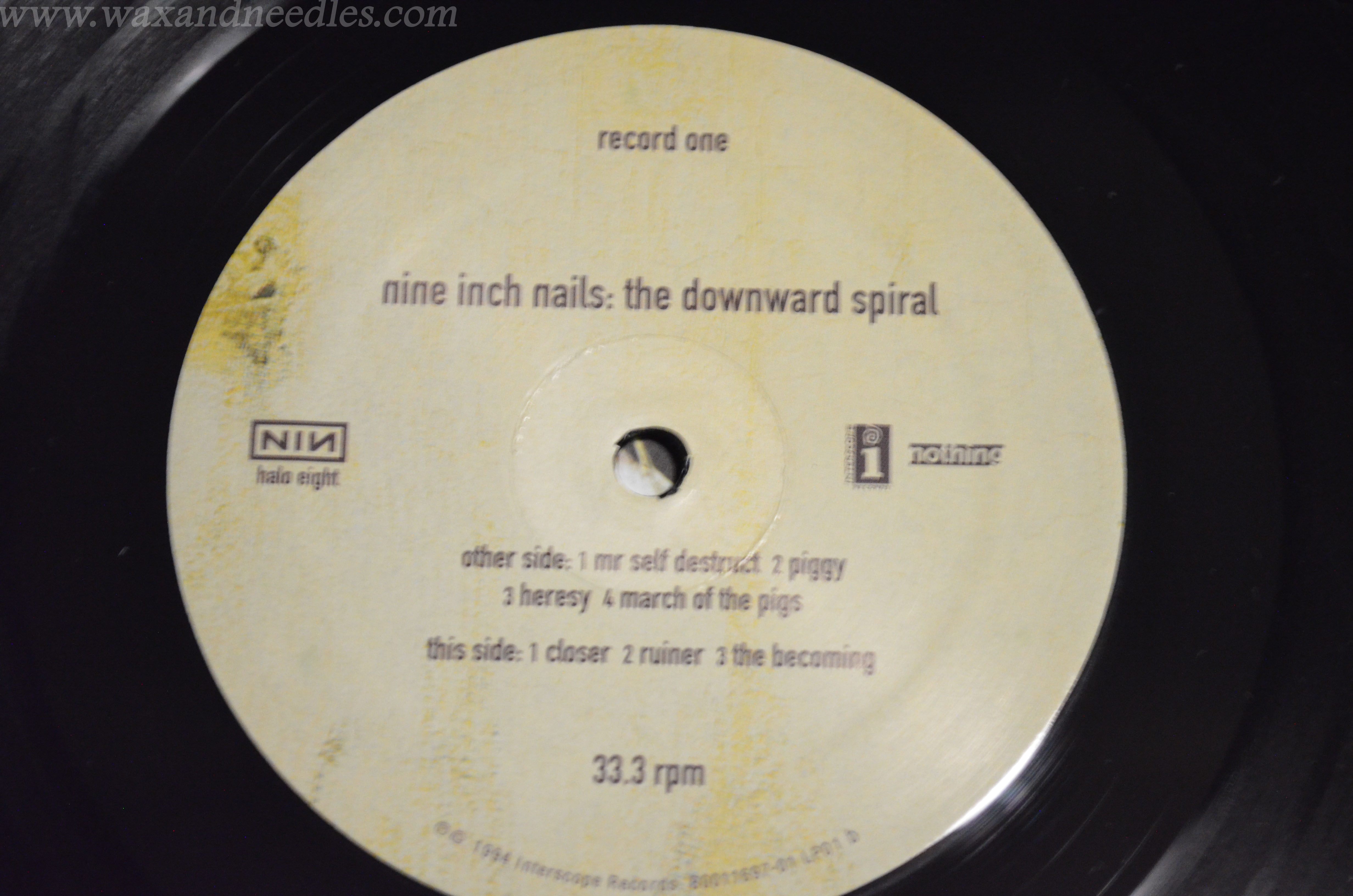 Nine Inch Nails – The Downward Spiral – 2 x LP | wax and needles